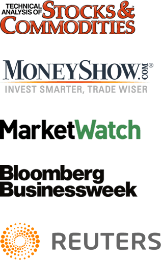 Stocks & Commodities, MoneyShow, MarketWatch, Bloomberg, Reuters