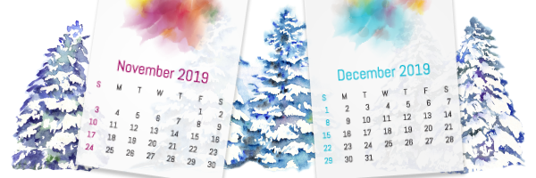 Holiday Trading Calendar 2019