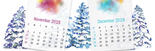 Holiday Trading Calendar 2019