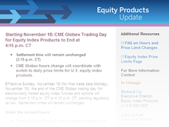 cme trading hours