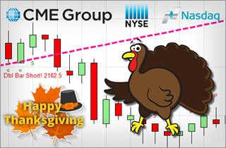 Thanksgiving E-mini Trading