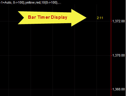 TradeStation Bar Timer